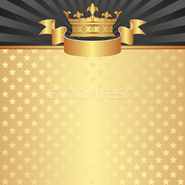 королевский корона дизайна фон кадр звезды Сток-фото © mtmmarek