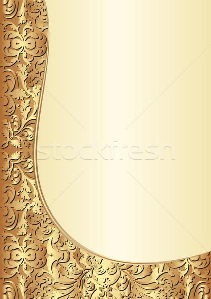 yellow and gold background Stock photo © mtmmarek