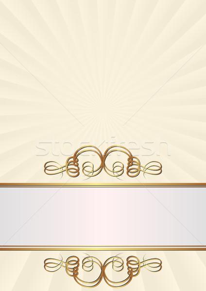 creamy background Stock photo © mtmmarek