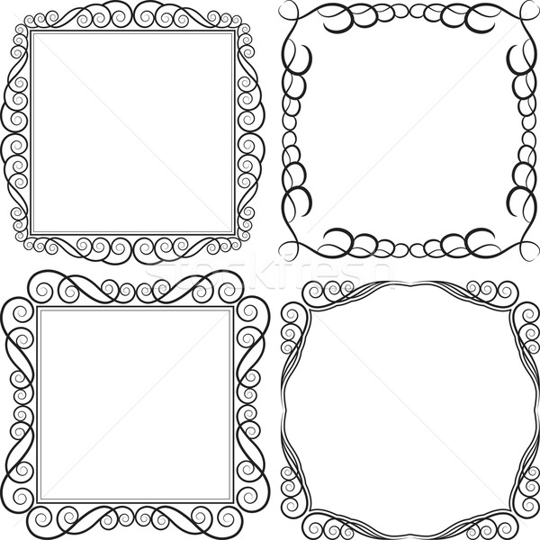 square frame Stock photo © mtmmarek