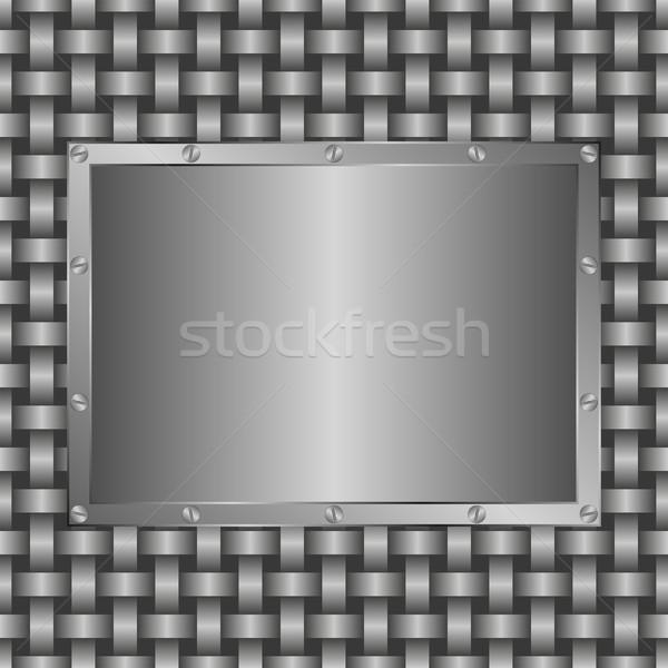 metallic  background Stock photo © mtmmarek