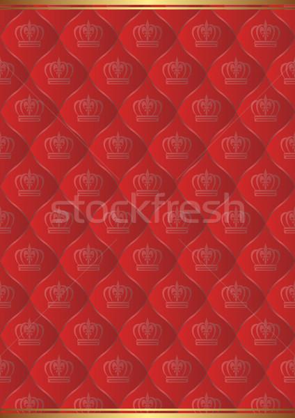 赤 ロイヤル パターン 抽象的な デザイン 背景 ストックフォト © mtmmarek