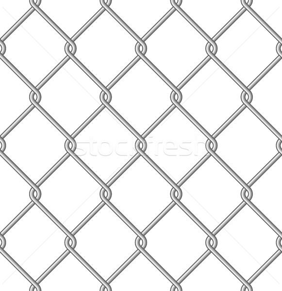 Háló izolált fém drót végtelen minta textúra Stock fotó © mtmmarek