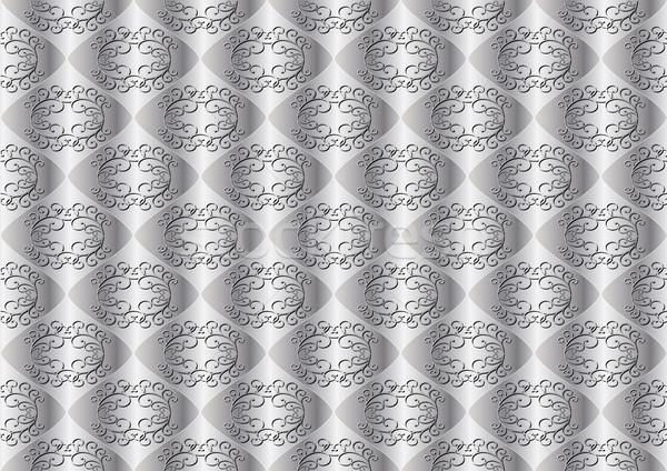 Gümüş süsler soyut dizayn bağbozumu model Stok fotoğraf © mtmmarek
