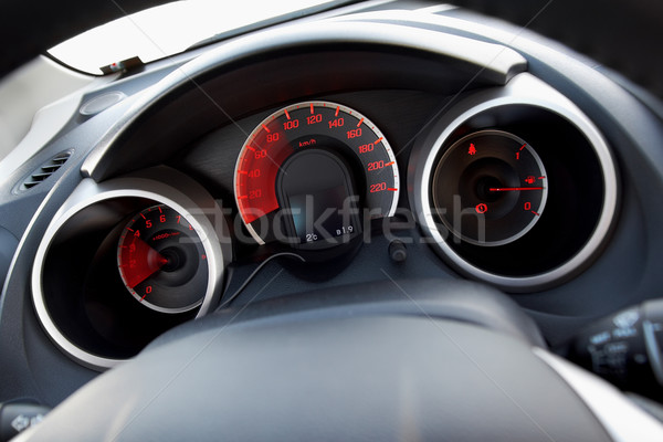 Modern car dashboard Stock photo © mtoome