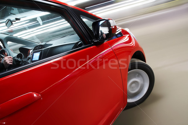 Car turning Stock photo © mtoome
