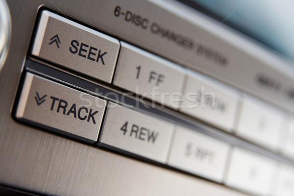 Car CD-changer Stock photo © mtoome