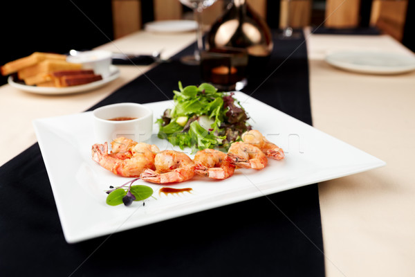 Tempura shrimps Stock photo © mtoome