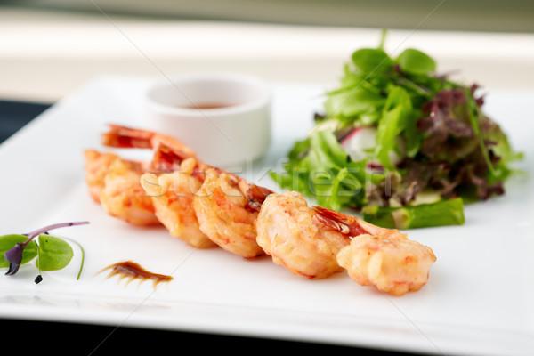 Tempura shrimps Stock photo © mtoome