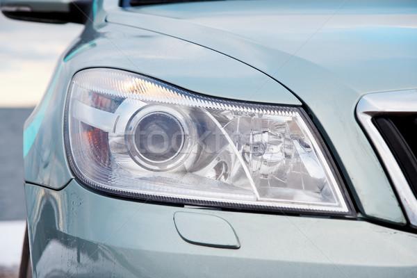 ışık modern araba spor Stok fotoğraf © mtoome