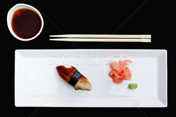 Eel sushi Stock photo © mtoome