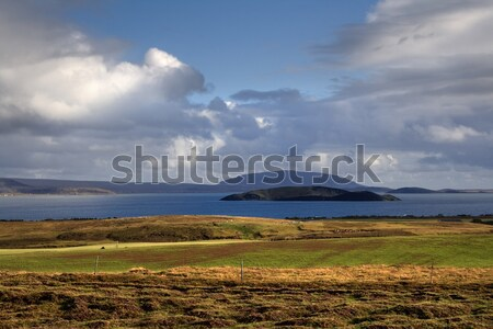 Lanscape in Iceland Stock photo © mtoome