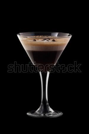 Stock photo: Espresso-Absinthe coctail
