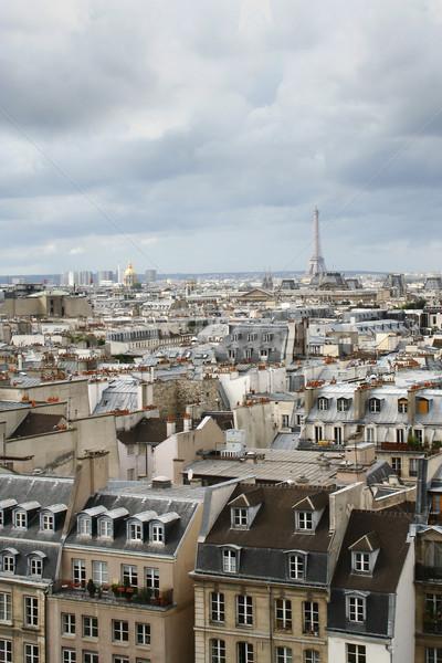 Париж Эйфелева башня здании свет городского Сток-фото © mtoome