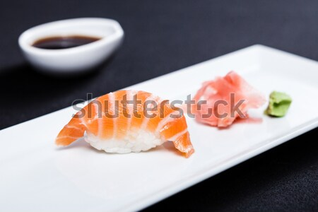 Red tuna sushi Stock photo © mtoome