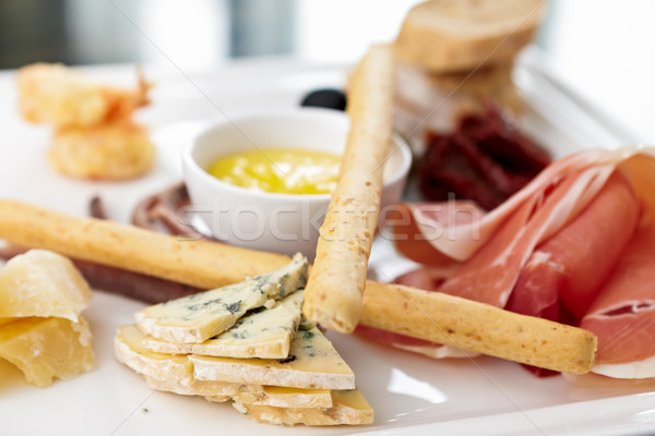 Tapas platter Stock photo © mtoome