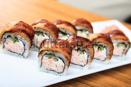 Nagoya roll Stock photo © mtoome