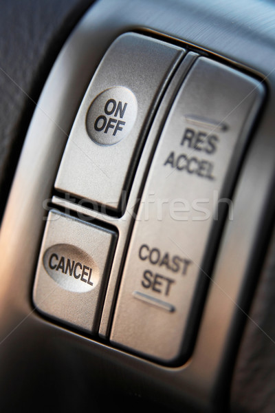 Cruise control buttons Stock photo © mtoome