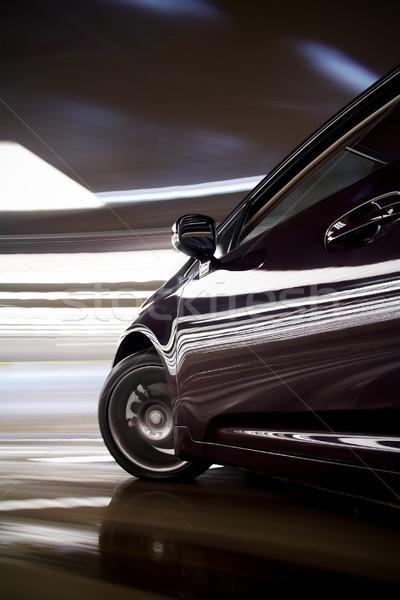 Araba hızlı detay karanlık renkli çok Stok fotoğraf © mtoome