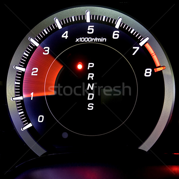 Tachometer isolated Stock photo © mtoome