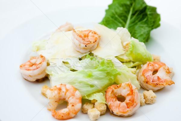 Ensalada cesar clásico alimentos hoja restaurante pan Foto stock © mtoome