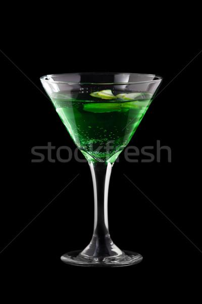 Martini isolado preto fundo bar clube Foto stock © mtoome
