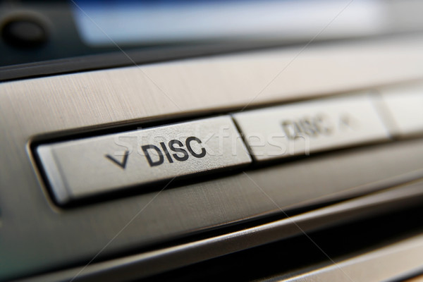 Car CD-changer buttons Stock photo © mtoome