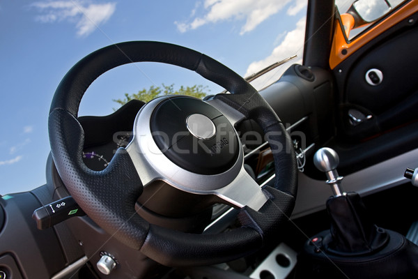 compact sportscar interior Stock photo © mtoome