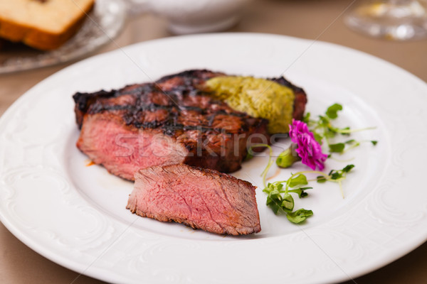 New York steak Stock photo © mtoome