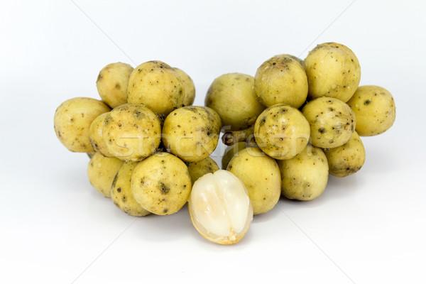 Fruits vitamines nutriments tropicales jaune fraîches Photo stock © muang_satun