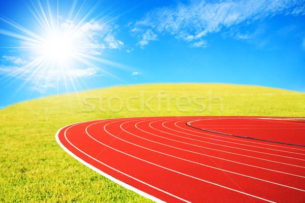 çalışma izlemek sabah atletizm rekabet arka plan Stok fotoğraf © muang_satun