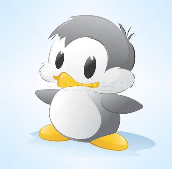 Cartoon Penguin Stock photo © mumut