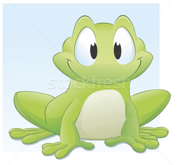 Cartoon Frog Stock photo © mumut