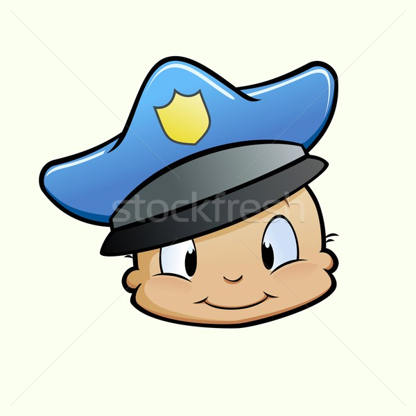 Baby Cop Stock photo © mumut