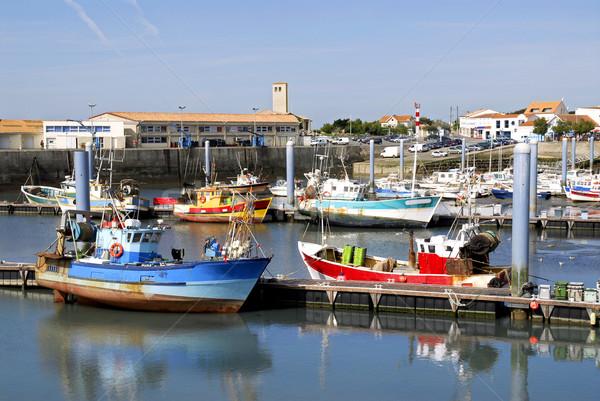 Port la France région département Photo stock © Musat