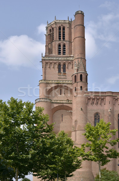 Bell tower of Albi in France Stock photo © Musat
