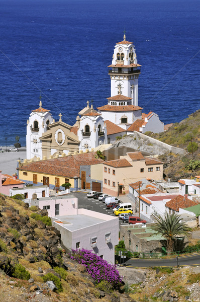 Kasaba bazilika tenerife görmek ünlü Stok fotoğraf © Musat