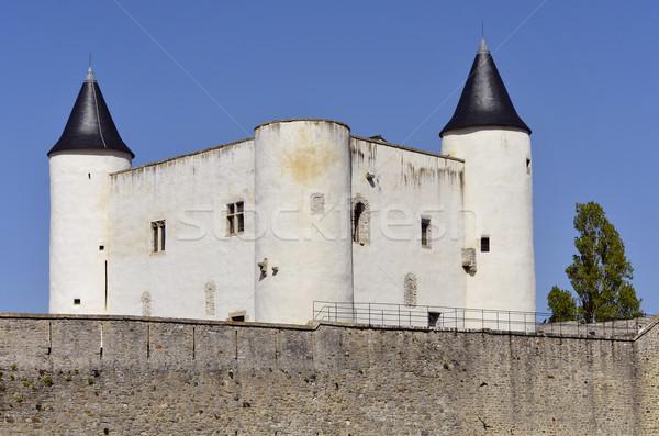 Kasteel Frankrijk middeleeuwse la regio westerse Stockfoto © Musat