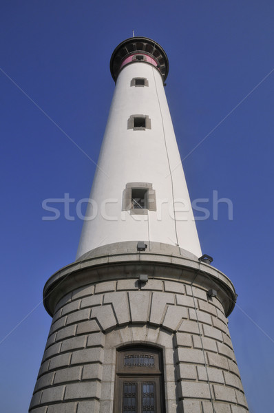 Lighthouse of Ouistreham in France Stock photo © Musat