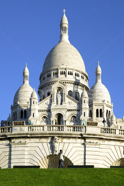 Basilica the Sacred Heart of Jesus in Paris Stock photo © Musat
