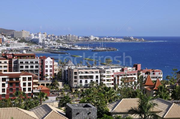 Foto stock: Tenerife · espanhol · canárias · cidade · mar