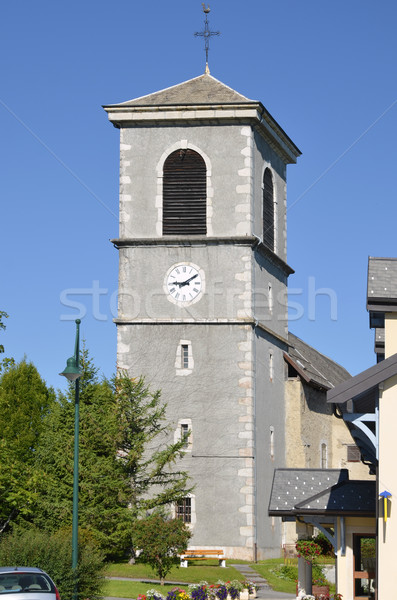Church of Saint Paul en Chablais in France Stock photo © Musat