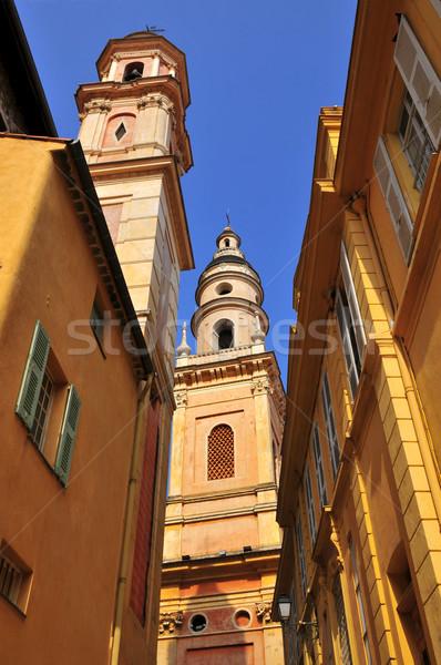 Basiliek Frankrijk straat barok regio Stockfoto © Musat