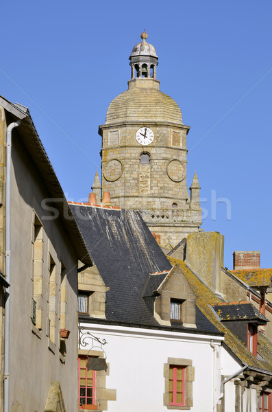 Church of Le Croisic in France Stock photo © Musat