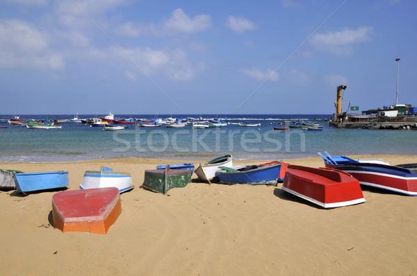 Port tenerife plage espagnol faible Photo stock © Musat