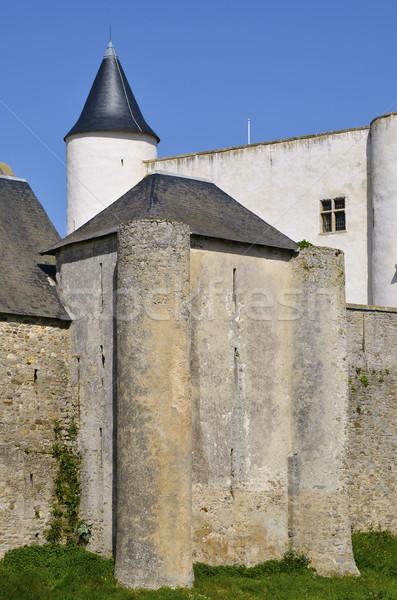 Castle of Noirmoutier en l'Ile in France Stock photo © Musat
