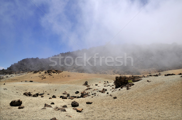 Teide National Park at Tenerife Stock photo © Musat