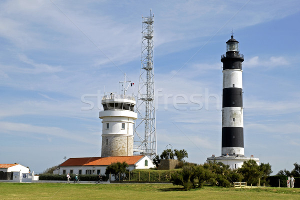 Lighthouse of Chassiron in France Stock photo © Musat