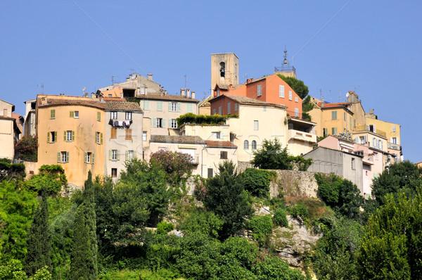 Köy Fransa üst tepe bölüm ev Stok fotoğraf © Musat