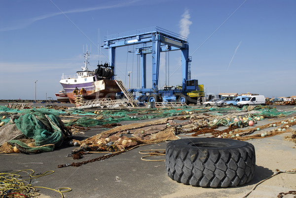 Port of La Cotiniere in France Stock photo © Musat